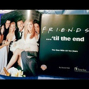 Friends: The One With All 10 Years Hardback Book